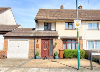 Thumbnail 3 bed semi-detached house for sale in Cooper Road, Lordswood, Chatham