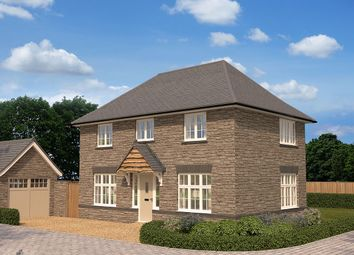 "Thumbnail 3 bed detached house for sale in ""Amberley"" at Crediton Road, Okehampton"