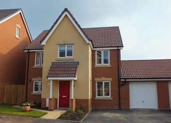 Thumbnail 4 bed detached house to rent in Hutton Close, Paxcroft Mead, Trowbridge