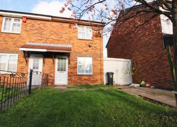 Thumbnail 2 bed semi-detached house for sale in Brewer Close, Leicester