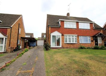 Thumbnail 3 bedroom semi-detached house for sale in Wessex Drive, Erith, Kent
