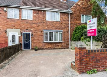 Thumbnail 3 bed town house for sale in Probert Avenue, Goldthorpe, Rotherham