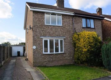Thumbnail 2 bed semi-detached house to rent in Dane Avenue, Thorpe Willoughby, Selby