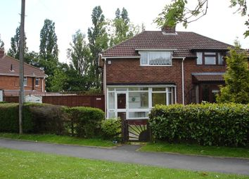 Thumbnail 3 bed semi-detached house for sale in Highters Heath Lane, Kings Heath, Birmingham