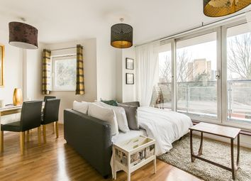 Thumbnail 1 bed flat to rent in Marcon Place, London