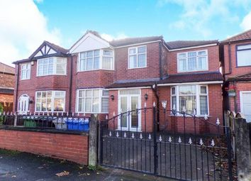 Thumbnail 4 bed semi-detached house for sale in Moorside Road, Urmston, Greater Manchester