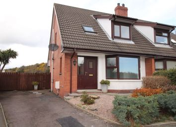 Thumbnail 3 bed semi-detached house for sale in Victoria Close, Newtownards
