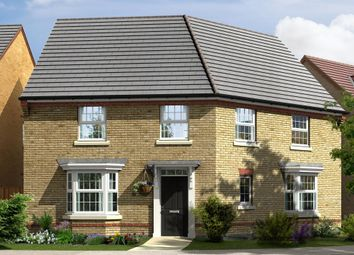 """Thumbnail 4 bed detached house for sale in """"Ashtree"""" at Station Road, Langford, Biggleswade"""
