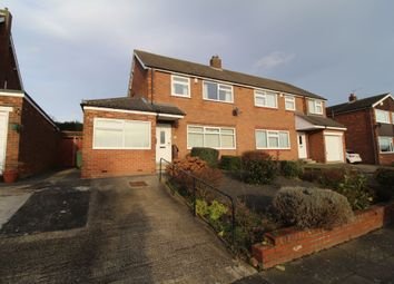 3 bed semi-detached house for sale in Stuart Gardens, Throckley, Newcastle Upon Tyne NE15