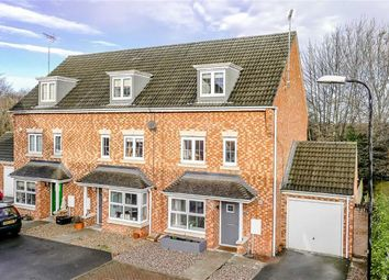 Thumbnail 4 bed semi-detached house for sale in Guinea Croft, Knaresborough, North Yorkshire