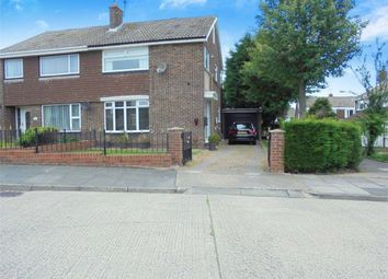 Thumbnail 3 bed semi-detached house for sale in Satley Gardens, Sunderland, Tyne And Wear