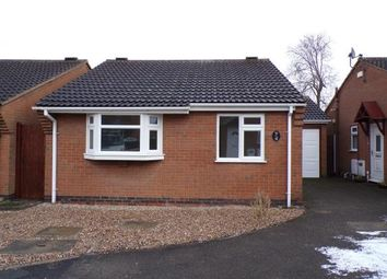 Thumbnail 2 bed bungalow for sale in Taylor Close, Syston, Leicester, Leicestershire