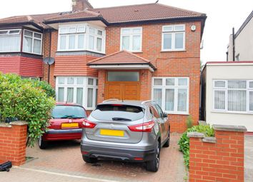 Thumbnail 4 bed semi-detached house to rent in Mollison Way, Edgware