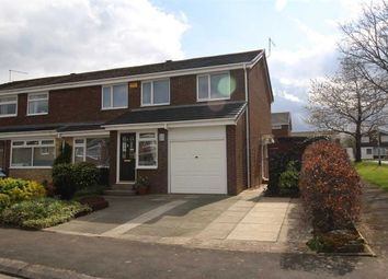 Thumbnail 4 bed semi-detached house for sale in Nairn Road, Parkside Chase, Cramlington