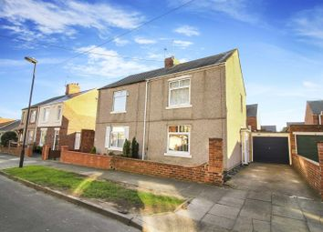 Thumbnail 2 bed semi-detached house for sale in Holly Avenue, Wellfield, Whitley Bay