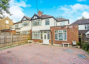 Thumbnail 4 bed semi-detached house for sale in Elms Road, Harrow Weald, Harrow