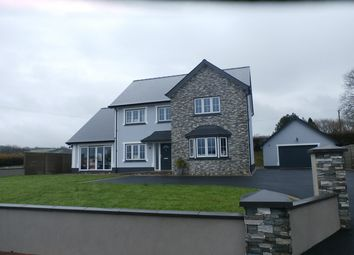 Thumbnail 4 bedroom detached house for sale in Cefn Farm Development, Rhydargaeau, Carmarthen