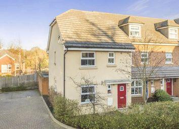 Thumbnail 3 bedroom end terrace house for sale in Carisbrooke Close, Stevenage