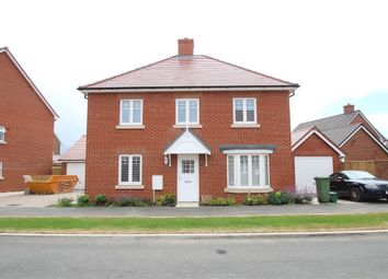 Thumbnail 4 bed detached house to rent in Carriage Road, Broughton, Aylesbury