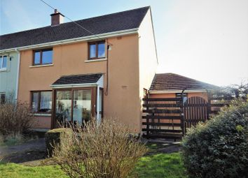 Thumbnail 4 bed semi-detached house for sale in Coronation Place, Shebbear, Beaworthy