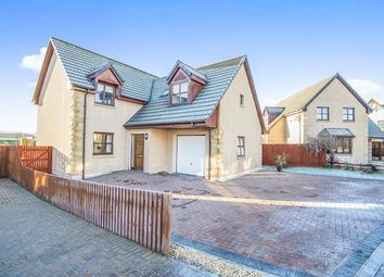 Thumbnail 4 bed detached house for sale in Leonach Crescent, Elgin