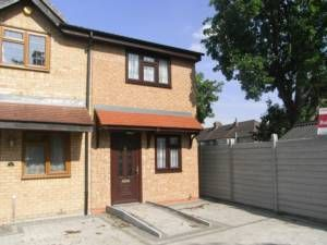 Thumbnail 2 bed terraced house to rent in Talisman Close, Goodmayes