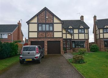 Thumbnail 5 bed detached house for sale in Fothergill Way, Wem
