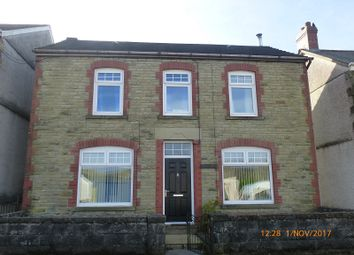 Thumbnail 4 bed detached house for sale in Wern Road, Garnant, Ammanford, Carmarthenshire.
