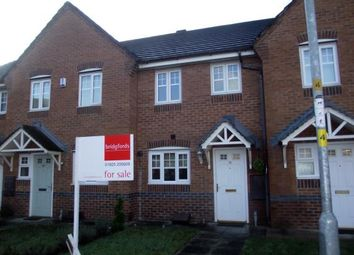 Thumbnail 2 bed terraced house for sale in Larkspur Grove, Warrington, Cheshire