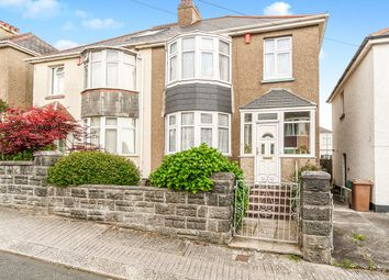 Thumbnail 3 bed semi-detached house for sale in Birchfield Avenue, Plymouth