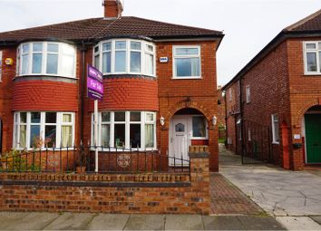 Thumbnail 3 bedroom semi-detached house for sale in Beaumont Road, Manchester
