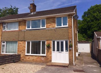 Thumbnail 3 bed semi-detached house for sale in Llwyn On, North Cornelly, Bridgend