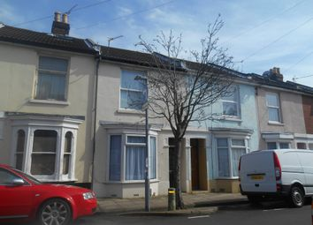 Thumbnail 4 bed terraced house to rent in Harold Road, Southsea