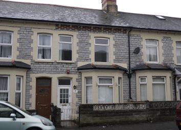Thumbnail 3 bedroom terraced house to rent in St Mary's Ave, Barry