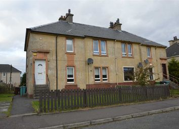 Thumbnail 2 bed flat for sale in Muirhall Terrace, Salsburgh, Shotts