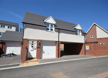 Thumbnail 2 bed detached house for sale in Crimson King, Cranbrook, Exeter, Devon