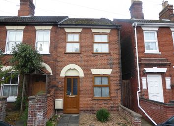 Thumbnail 3 bed end terrace house for sale in Alexandra Road, Beccles