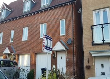 Thumbnail 3 bed town house to rent in Greystones, Willesborough, Ashford
