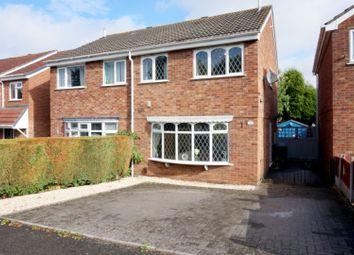 Thumbnail 3 bed semi-detached house for sale in Minerva Close, Tamworth