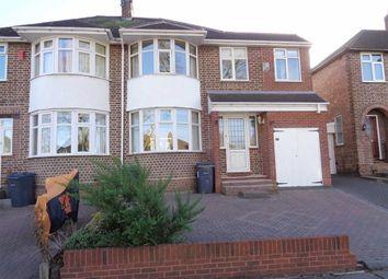 Thumbnail 4 bed semi-detached house for sale in Ashville Avenue, Hodge Hill, Birmingham