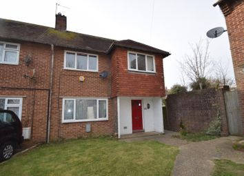Thumbnail 3 bed semi-detached house for sale in Crawley Crescent, Eastbourne