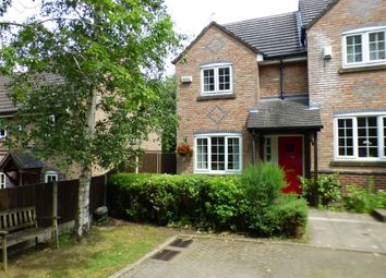 Thumbnail 3 bed mews house for sale in The Spinney, Sandbach