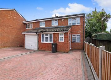 Thumbnail 3 bed semi-detached house for sale in Swans Hope, Loughton, Essex