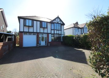 Thumbnail 4 bed detached house for sale in Victoria Road West, Cleveleys