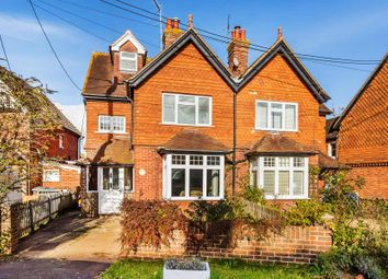 Thumbnail 4 bed semi-detached house to rent in Woodside Road, Chiddingfold, Godalming