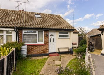 Thumbnail 1 bed semi-detached bungalow for sale in Hampton Close, Southend-On-Sea