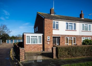 Thumbnail 3 bed end terrace house to rent in Turners Close, Bramfield, Hertford