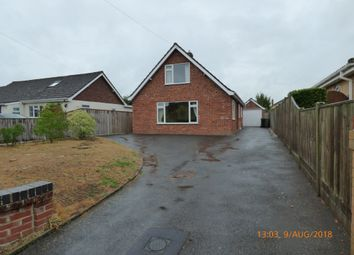 Thumbnail 4 bed detached bungalow to rent in Park Lane, Silfield, Wymondham