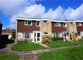 Thumbnail 3 bed end terrace house for sale in St. Swithins Close, Sherborne
