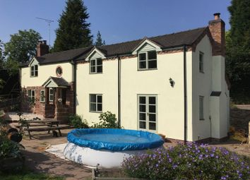 Thumbnail 3 bed detached house to rent in Dale Cottage, Fairoak, Eccleshall, Staffordshire
